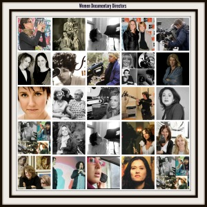 collage of women documentary directors